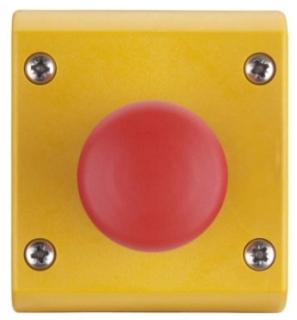 M22-C1-M3H CH CONTROL STATION TWIST-RELEASE E-STOP 1NC