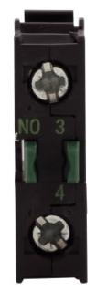 M22-KC10 CH CONTACT BLOCK 1NO SCREW TERM BASE MOUNT