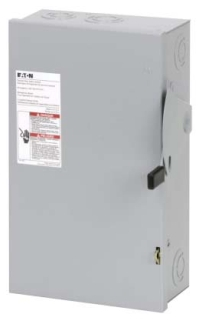 DG322NGB CH SAFETY SWITCH FUSIBLE 3P 60 AMP 240V NEMA 1
