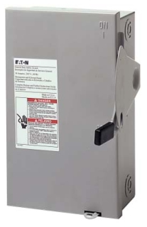 DG321NGB CH SAFETY SWITCH FUSIBLE 3P 30 AMP 240V NEMA 1