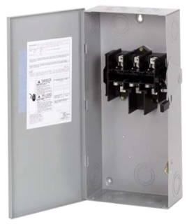 DG323NGB CH SAFETY SWITCH FUSIBLE 3P 100 AMP 240V NEMA 1