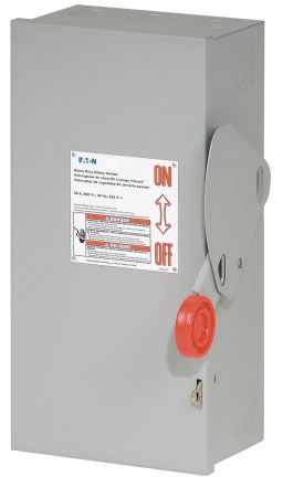 DH322NGK CH SAFETY SWITCH FUSIBLE 3P 60 AMP 240V NEMA 1
