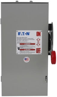 DH322NRK CH SAFETY SWITCH FUSIBLE 3P 60 AMP 240V NEMA 3R