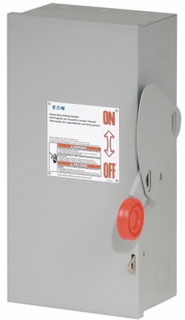 DH362FRK CH SAFETY SWITCH FUSIBLE 3P 60 AMP 600V NEMA 3R