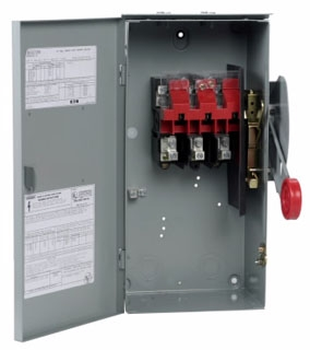 DH362URK CH SAFETY SWITCH NON-FUSIBLE 3P 60 AMP 600V NEMA 3R