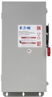 DH363FDK CH SAFETY SWITCH FUSIBLE 3P 100 AMP 600V NEMA 12