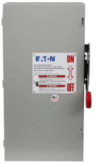 DH363NGK CH SAFETY SWITCH FUSIBLE 3P 100 AMP 600V NEMA 1