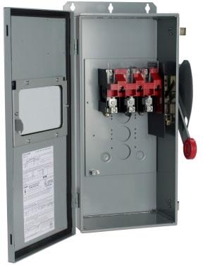 DH363UDKW CH 100A 600V NONFUSE NEMA#12 W/WINDOW