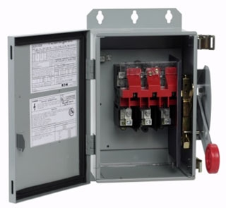 DH362UDK CH SAFETY SWITCH NON-FUSIBLE 3P 60 AMP 600V NEMA 12