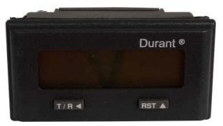 53301475 DUR 8 Digit LCD Totalizer/Ratemeter, Mag Pickup, Battery