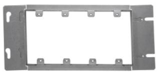 TP655 13/16 PLAS 4-GANG BOX CVR