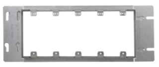 TP661 13/16 PLAS 5 GANG BOX CVR