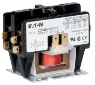 C25BNB230T CH COMPACT 2P 30A CONT SCR TERM QUAD QC 24VAC COIL