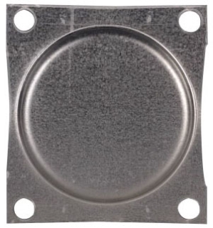 DS900CP1 CH HUB CLOSURE PLATE FOR GROUP 1 RAINPROOF CONDUIT HUBS
