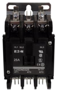 C25DND330T CH OPEN N-R 3P 30A DP CONT SCR/PP W/QC TERM 24VAC COIL
