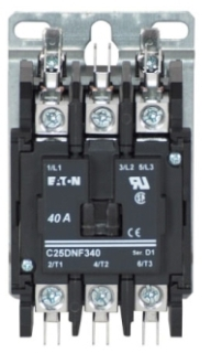 C25DNF340B CH OPEN N-R 3P 40A DP CONT BOX LUGS W/QC TERM 240VAC COIL