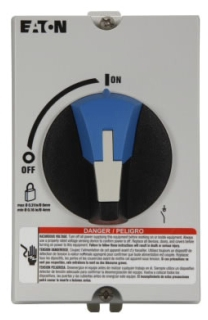 ER53030UPGB CH ENCLOSED, UL508, 3P/30A, NON-FUSIBLE ROTARY DISC, GREY/BLACK