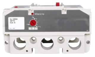 LT3400FA C-H LT 3 Pole Trip Unit, 400 Amp, Fixed Therm, Adj. Mag (UL) 78211633623