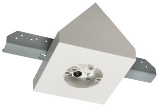 FBB900 ARL FAN FIXTURE MOUNT FITS CATHEDRAL CEILINGS WITH ANGLE 80 DEG OR GREATER AND INSTALLED 16