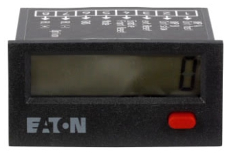 E5-024-C0408 DUR CH 003-CH41323406 8-DIGIT LCD TOTALIZER BATTERY POWERED HIGH VOLTAGE 24X48MM 10-260 VAC/VDC INPUT VOLTAGE