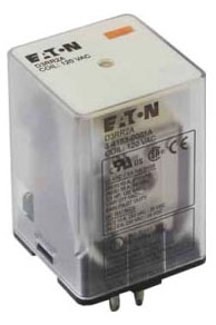 D3RR2A CH ICE CUBE RELAY, DPDT, OCTAL BASE, 10A, 120VAC COIL