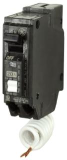 THQL1115AF2 GE 15A 1P 120VAC PLUG IN AFCI COMBO