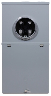 TSM420CSCU GE 200A METER SOCKET DISCONNECT COMBO OH/UG FOR MOBILE HOMES N3R 22KAIC FEEDTHRU LUGS (M281CB1 MIDWEST)