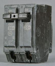 THQL2120 GE 2P-20A-120/240V CB 138A