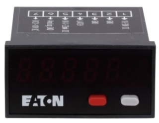 E5-324-E0402 DUR Compact LED Panel Meter, DC Power, 24x48mm 78668511474