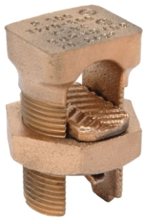 KS34 BURNDY COPPER SPLIT BOLT 2/0- 500MCM CU