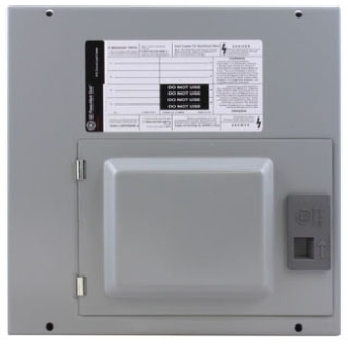TLM612SCUD GE 125A MLO LOAD-CENTER W/DOOR 1PH INDOOR 6-CIRCUIT