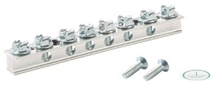 UGB2/0-414-6 PAN 6 PORT UNIVERSAL GROUND BAR
