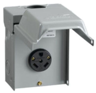 U013 MEP 30A 120V POST MTR POWER OUTLET IN NEMA 3R ENCLOSURE