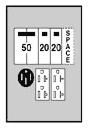 U076C010 MEP 100A SERVICE BOX