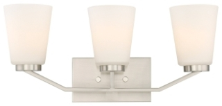 60/6243 SATCO NOME 3 LIGHT VANITY BN