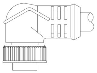 103001A01F1201 B-H MC 3P FP 12' 90D 16/3 PVC SS