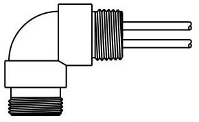 1R5007A20A120 BH MINI 5P 90DEG MALE RECEPTACLE W/12