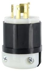 7411-C LEV 20A/120-208V 4P4W LOCKING PLUG NON-NEMA