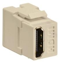 40834-I LEV HDMI FEEDTHRU CONN IVORY