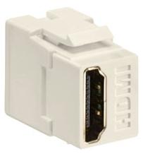 40834-T LEV HDMI FEEDTHRU CONN LT ALMOND