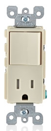 T5625-T LEVITON 15A SWITCH TR RCPT CMBO 07847738236