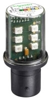 DL1BDB3 SQD GREEN LED BA15D