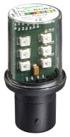 DL1BDB4 SQD RED LED BA15D 24VAC/DC