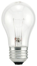 60A15/CL/FAN/RP-120V SYL 60W A15 11007 Clear Fan Lamp