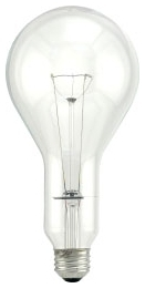 300M/CL-120V SYL 300W PS30 CLEAR 15742 Med. Lamp