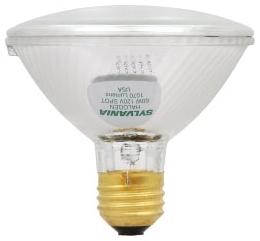 60PAR30/HAL/S/SP10-120V SYLVANIA TUNGSTEN HALOGEN PAR30 SILVER REFLECTOR LAMP 60WATT 120VOLT MEDIUM BASE SPOT10 BEAM 04613516127 16127