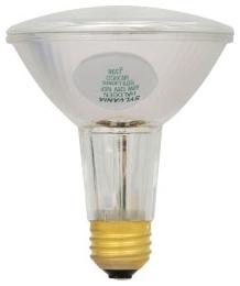 60PAR30LN/HAL/S/SP10-120V SYLVANIA TUNGSTEN HALOGEN PAR30LN SILVER REFLECTOR LAMP 60WATT 120VOLT MEDIUM BASE SPOT10 BEAM 04613516166 16166 10/case