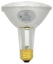 60PAR30LN/HAL/S/NFL25-120V SYLVANIA TUNGSTEN HALOGEN PAR30LN SILVER REFLECTOR LAMP 60WATT 120VOLT MEDIUM BASE NARROWFLOOD25 BEAM 04613516167 16167 CASE/10