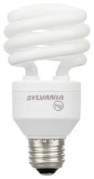 CF20EL/SPIRAL/827 26347 SYLVANIA 20W CFL LAMP 04613526347