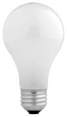 43A/HAL/SSW/4-120V SYL HAL A19 LAMP 43W 120V MED.BASE SUPER SOFT WHITE 50005 48/case